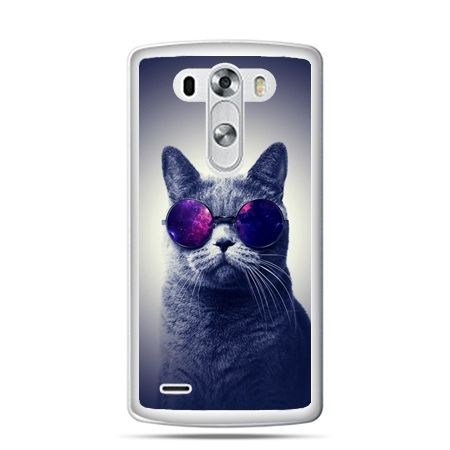 LG G4 etui kot hipster w okularach