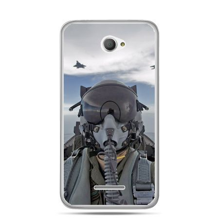Xperia E4 etui pilot myśliwca