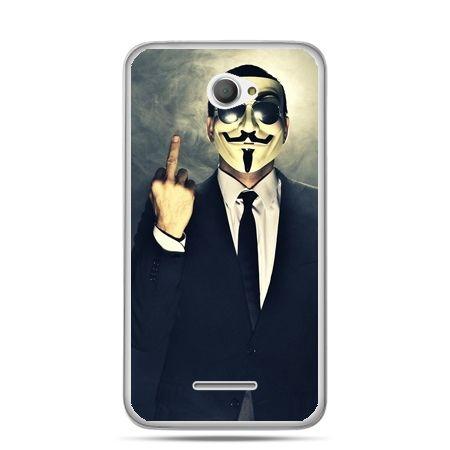 Xperia E4 etui Anonimus Fuck You