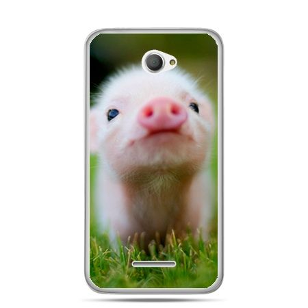 Xperia E4 etui świnka