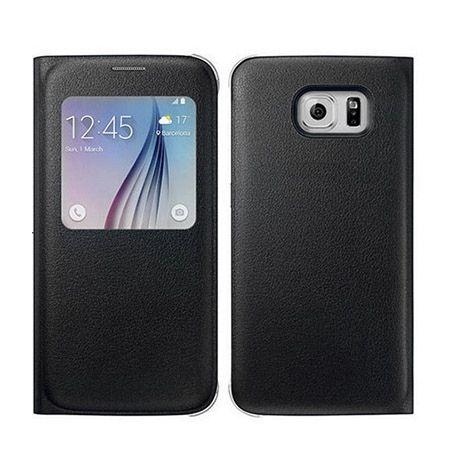 Galaxy S6 Edge Flip S View z klapką czarne.