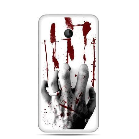 Nokia Lumia 630 etui zakrwawiona ręka