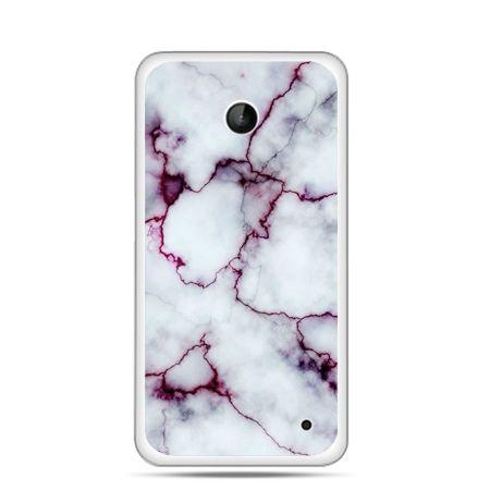 Nokia Lumia 630 etui różowy marmur