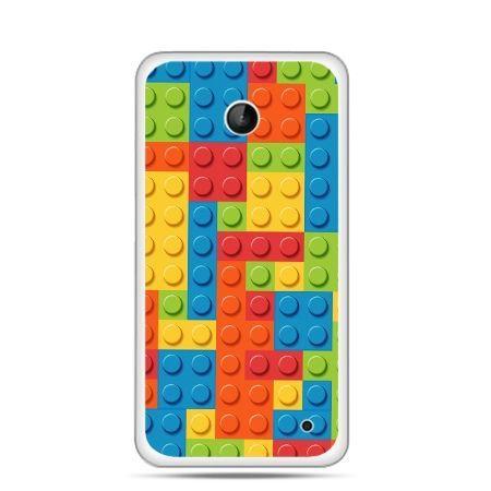 Nokia Lumia 630 etui kolorowe klocki