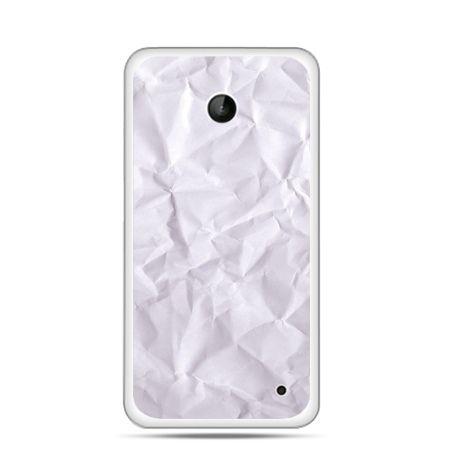 Nokia Lumia 630 etui pomięty papier