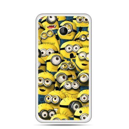 Nokia Lumia 630 etui Minionki grupa
