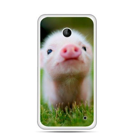 Nokia Lumia 630 etui świnka