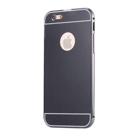 iPhone 6 PLUS, etui aluminium bumper case grafitowy