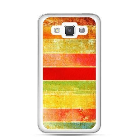 Etui na Galaxy A5 Kolorowe pasy