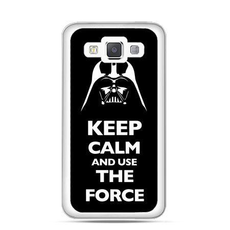 Etui na Galaxy A5 Keep calm and use the force