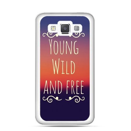 Etui na Galaxy A5 Young wild and free