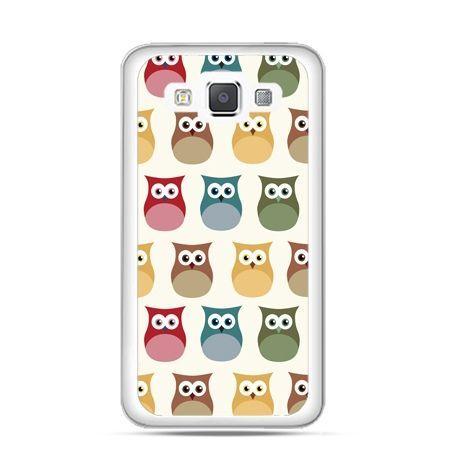 Etui na Galaxy A5 Kolorowe sowy