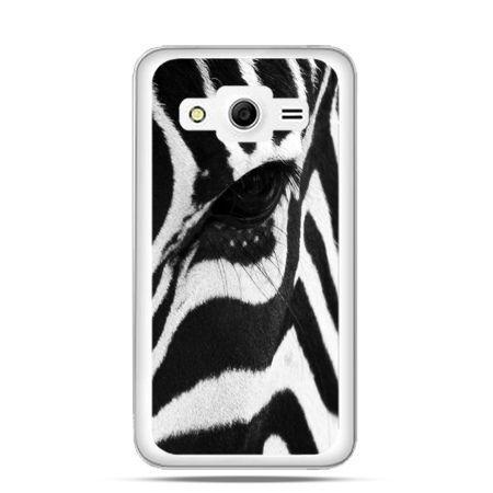 Etui na Galaxy Core 2 Zebra