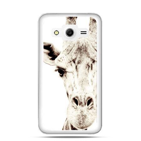 Etui na Galaxy Core 2 żyrafa