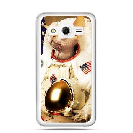 Etui na Galaxy Core 2 Kot astronauta