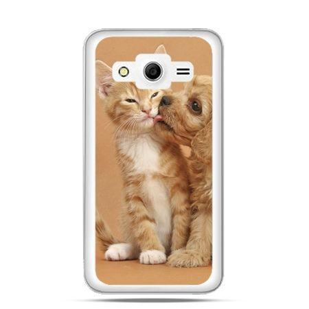 Etui na Galaxy Core 2 Jak pies i kot
