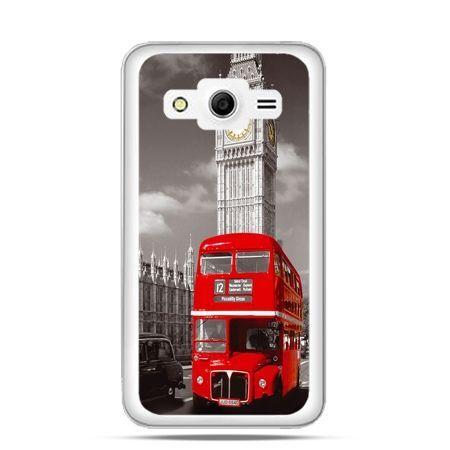 Etui na Galaxy Core 2 Czerwony autobus londyn