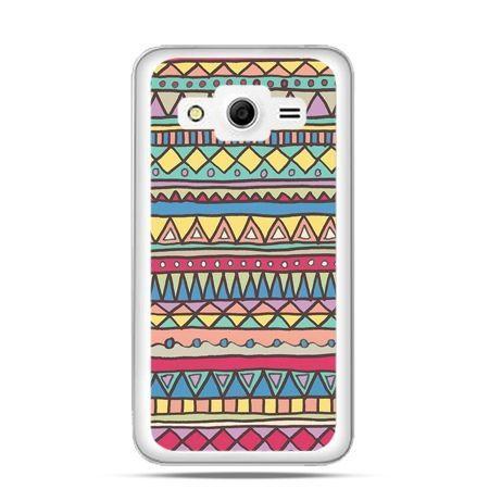 Etui na Galaxy Core 2 Azteckie wzory