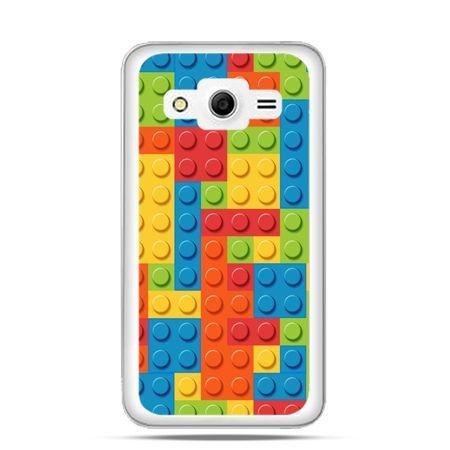 Etui na Galaxy Core 2 kolorowe klocki