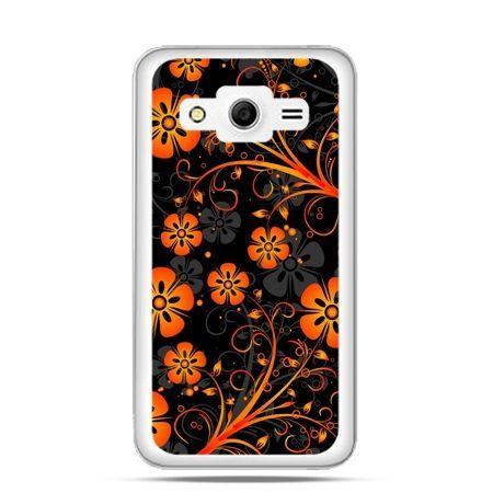 Etui na Galaxy Core 2 Nocne kwiaty