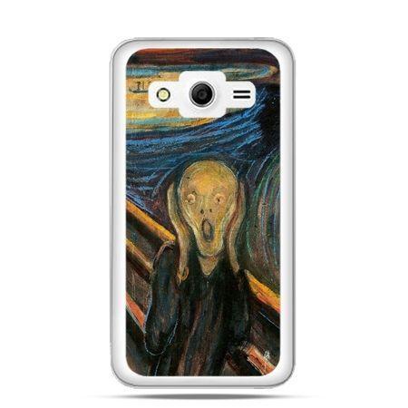 Etui na Galaxy Core 2 Krzyk Munka
