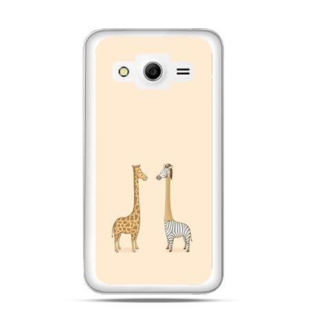 Etui na Galaxy Core 2 żyrafy