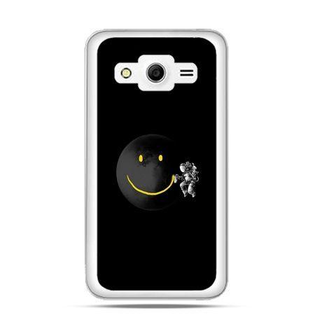 Etui na Galaxy Core 2 Uśmiechnięta planeta