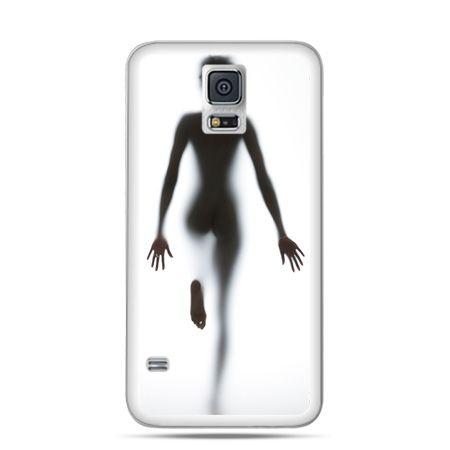 Samsung Galaxy S5 mini Kobieta za szybą