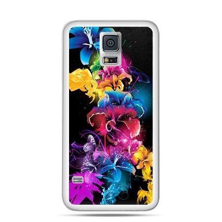 Samsung Galaxy S5 mini Kolorowe kwiaty