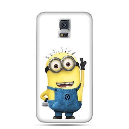 Etui na Samsung Galaxy S5 mini Wesoły minionek ,minionki