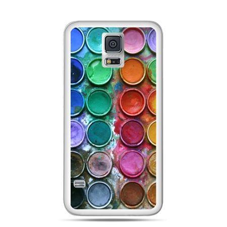 Etui na Samsung Galaxy S5 mini Kolorowe farbki