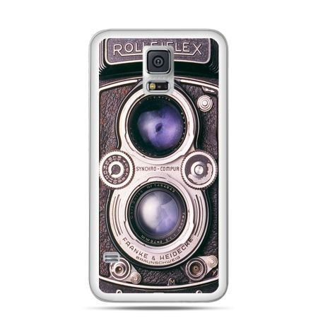 Etui na Samsung Galaxy S5 mini Aparat Rolleiflex