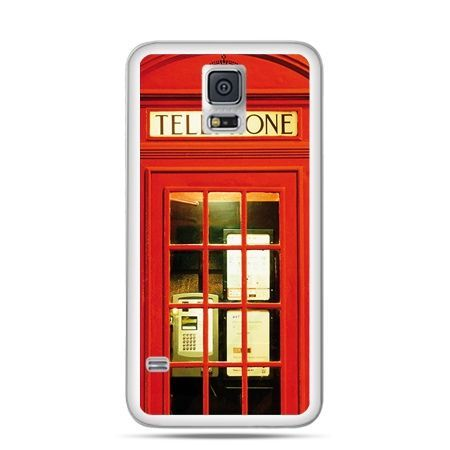 Etui na Samsung Galaxy S5 mini Czerwona budka telefoniczna