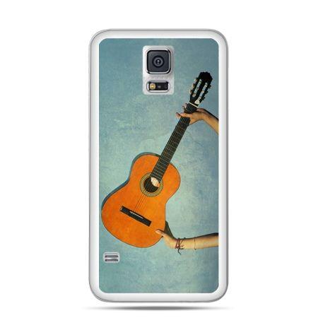 Etui na Samsung Galaxy S5 mini Gitara