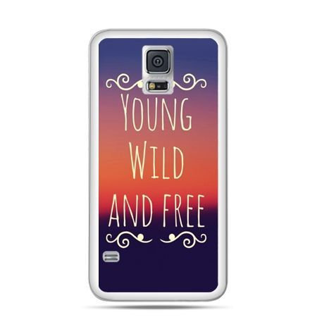 Etui na Samsung Galaxy S5 mini Young wild and free