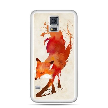 Etui na Samsung Galaxy S5 mini Lis watercolor