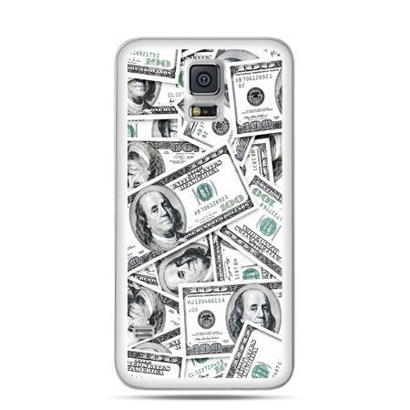 Etui na Samsung Galaxy S5 mini dolary banknoty