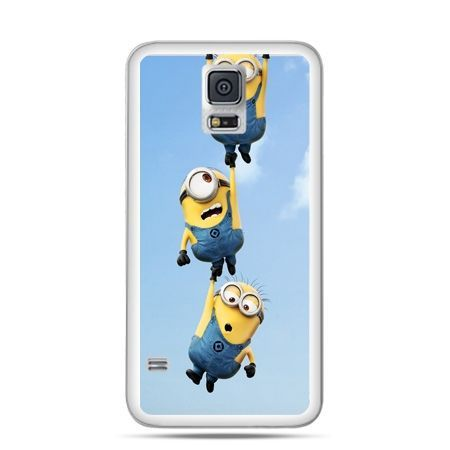 Etui na Samsung Galaxy S5 mini Spadające minionki