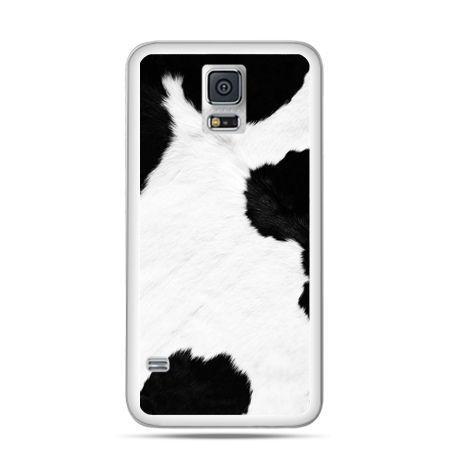 Etui na Samsung Galaxy S5 mini łaciata krowa