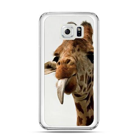 Etui na Galaxy S6 żyrafa z językiem