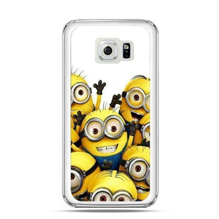Etui na Galaxy S6 Minionki