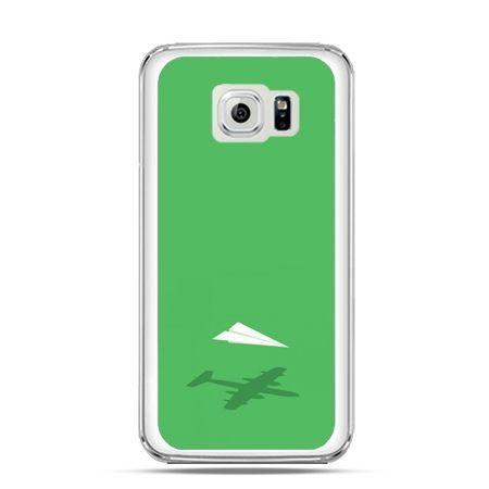 Etui na Galaxy S6 Samolot z papieru