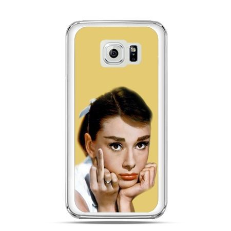 Etui na Galaxy S6 Audrey Hepburn Fuck You