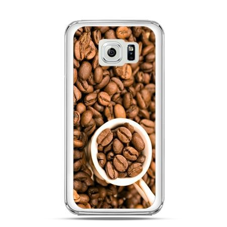Etui na Galaxy S6 Edge kubek z kawą