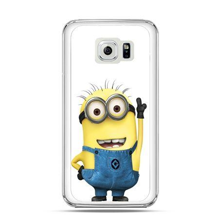 Etui na Galaxy S6 Edge Wesoły minionek ,minionki
