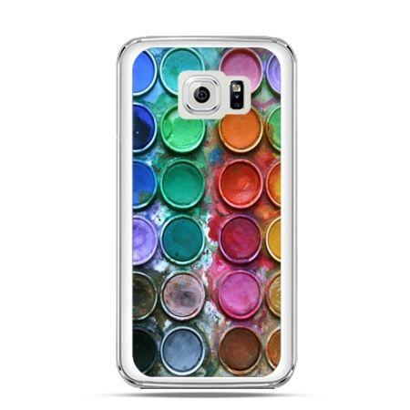 Etui na Galaxy S6 Edge Kolorowe farbki