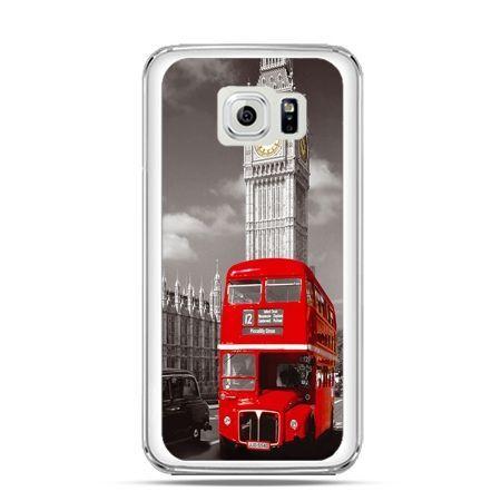 Etui na Galaxy S6 Edge Czerwony autobus londyn