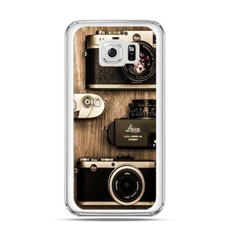 Etui na Galaxy S6 Edge Aparaty retro