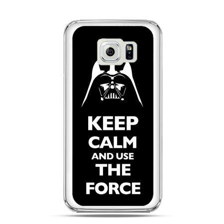 Etui na Galaxy S6 Edge Keep calm and use the force