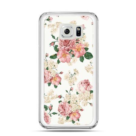 Etui na Galaxy S6 Edge Polne kwiaty